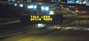Talk Less Drive More
