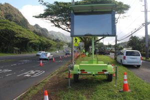 Department of Transportation | HDOT adds travel time smart boards for Windward Oahu motorists