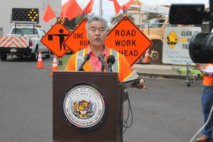 Department of Transportation | HDOT urges Hawaii drivers to be aware, move over for workers on the road