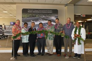 Department of Transportation | HDOT breaks ground on new Mauka Concourse at the Daniel K. Inouye International Airport