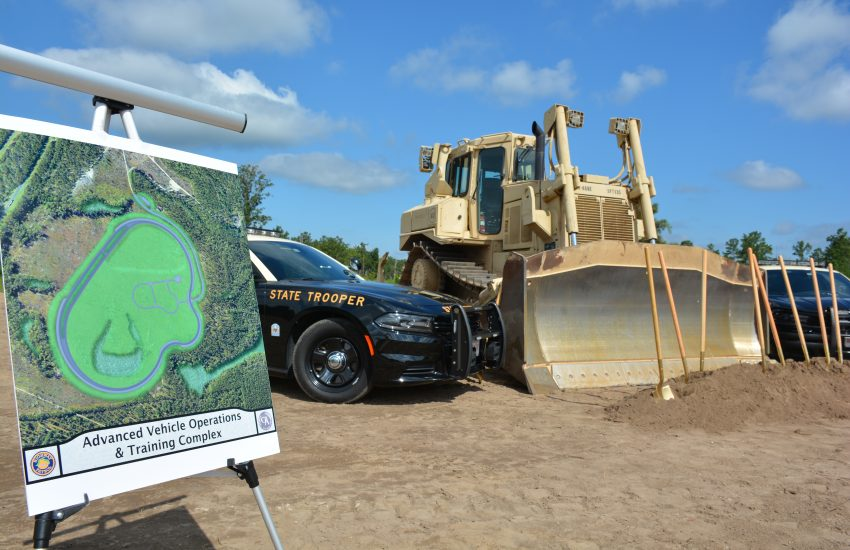 Florida Highway Patrol Breaks Ground at Florida's Advanced Vehicle Operations and Training Complex