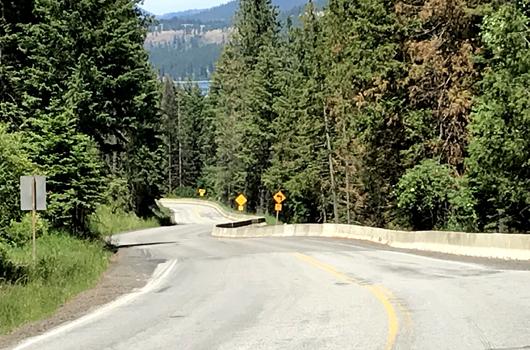 Landslide repairs to ID-5 near Plummer will start next week
