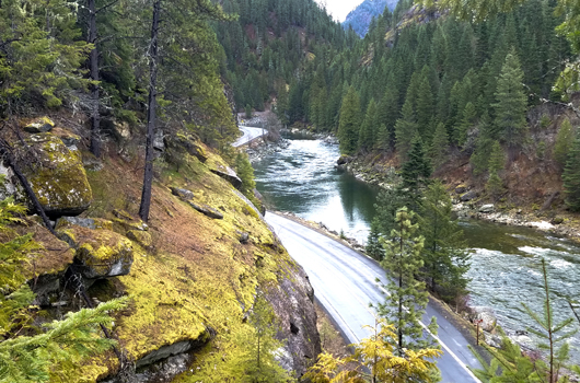 Paving on US-12 in north-central Idaho to start next week