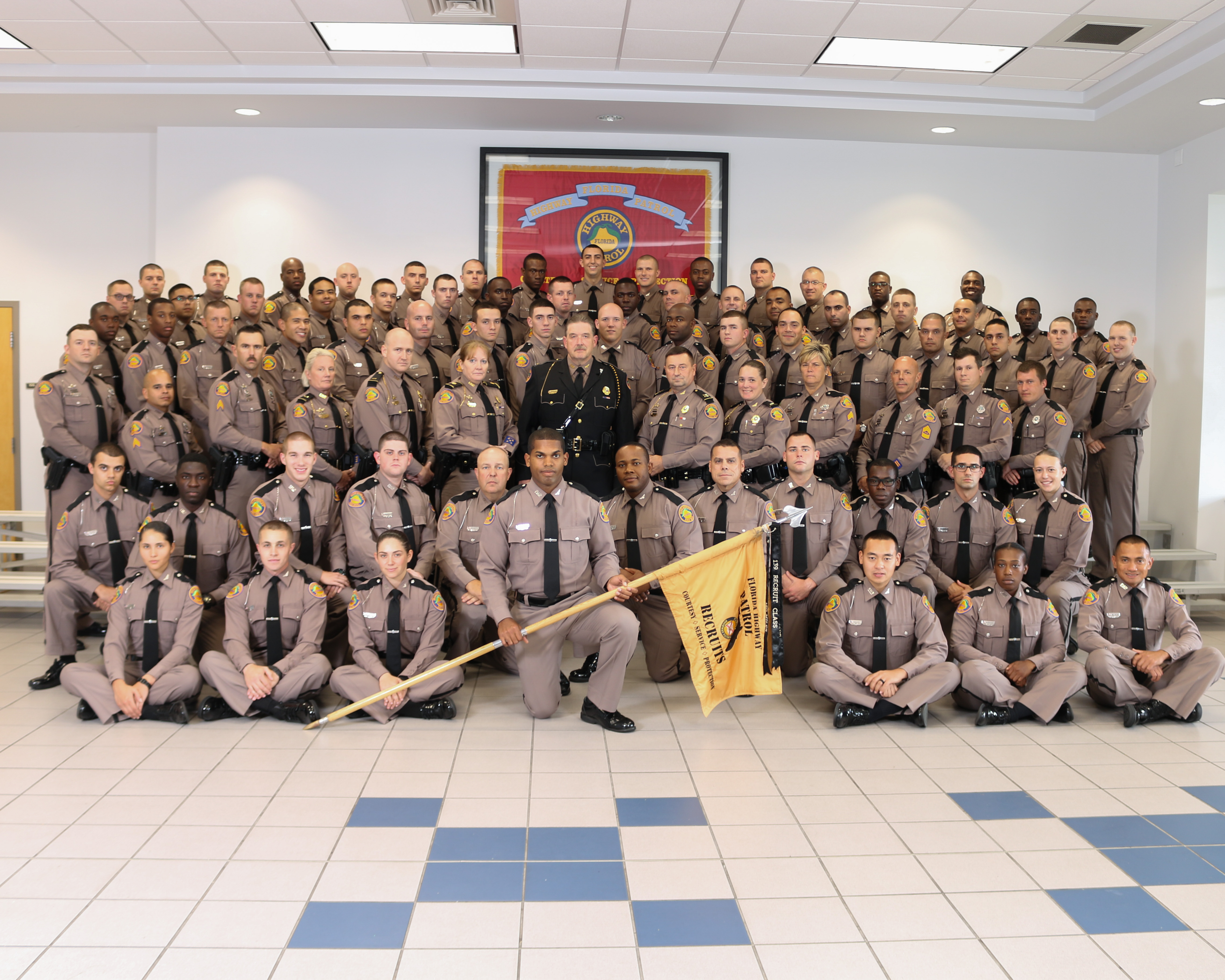 139th Basic Recruit Class Graduates From FHP Training Academy