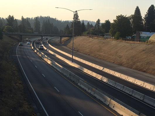 Traffic shift scheduled Saturday night for I-90 through CDA