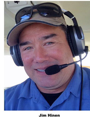 ITD's Hinen assists in saving lives in aviation search and rescue