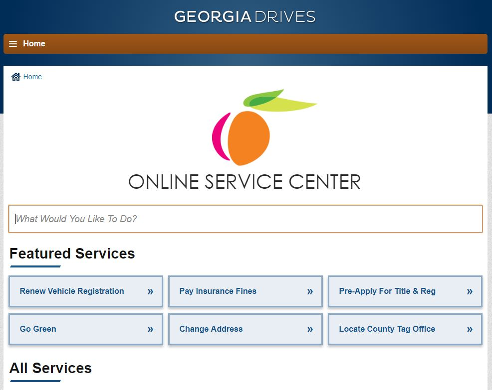 Georgia Motor Vehicle Division Announces New Online Services Portal Is Up And Running Dmv List Automotive News Blog