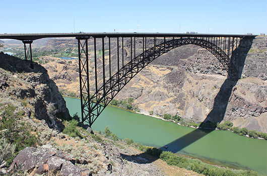 Sunday traffic reduced to one lane on the Perrine Bridge