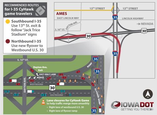 I35_US30_Flyover_zoomout_CyHawk map