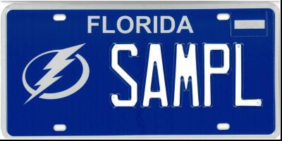 Tampa Bay Lightning - Sample Plate