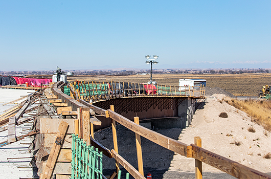 Substantial headway made on Salt Lake Interchange project east of Burley