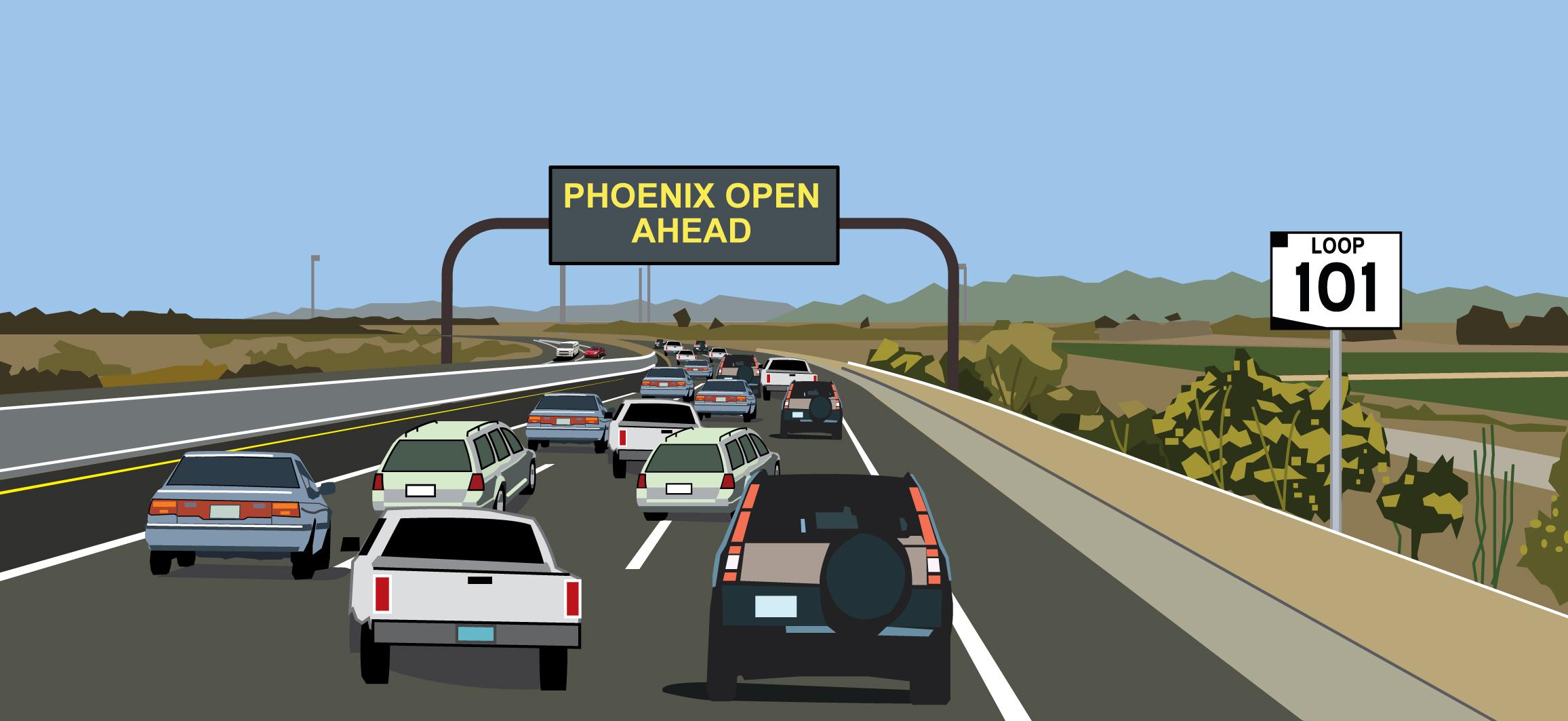Loop 101 Phoenix open