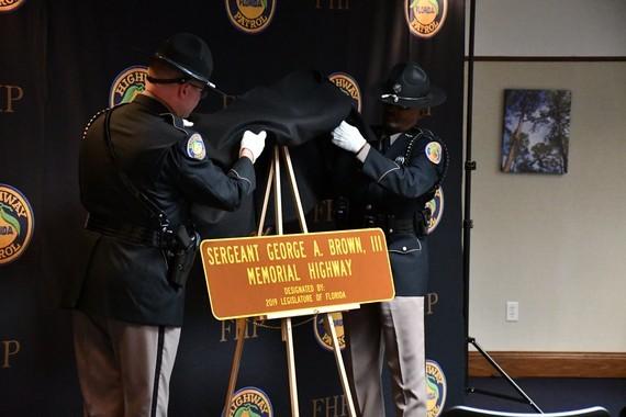 Sergeant George A. Brown Memorial Highway