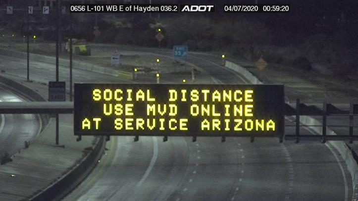 Social distance DMS