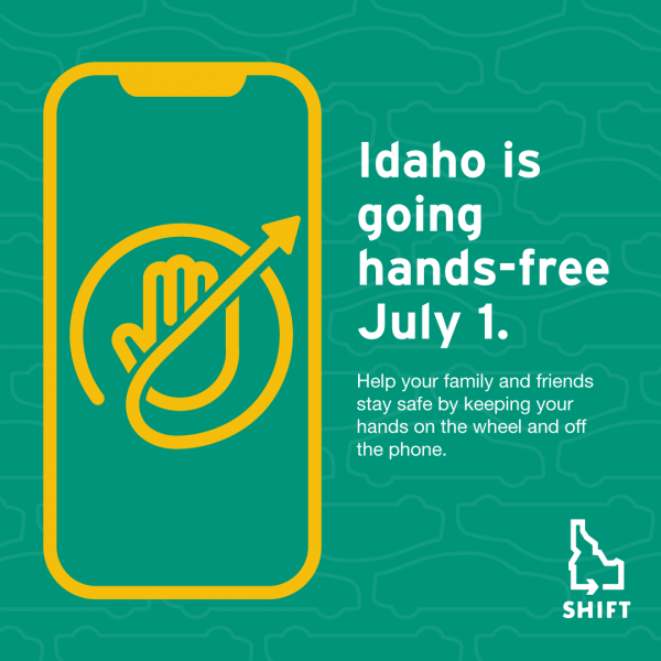 Idaho Goes Hands-Free July 1