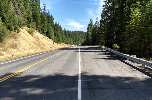 Idaho Highway 8 near Bovill